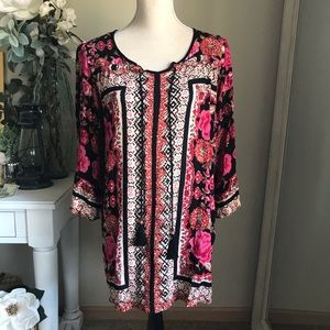 Angie Boho Top, Size Small